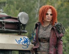 P123SL STEPHANIE LEONIDAS SIGNED TV's DEFIANCE SIGNED 10X8 PHOTO GUARANTEED AUTHENTIC AUTOGRAPH …